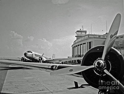 Historic Eastern Airlines Dca Print by Jost Houk
