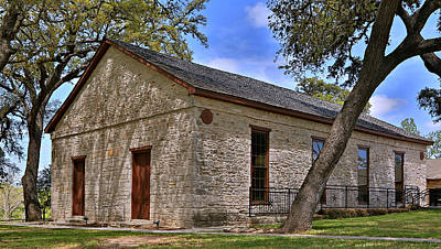 Historic Independence Baptist Church -- Texas Print by Stephen Stookey