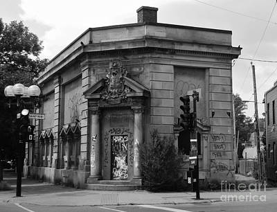 Old Montreal Photograph - Historic Molson Bank St Henri by Reb Frost