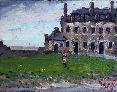 Historic Buildings Painting - Historic Old Fort Niagara by Ylli Haruni