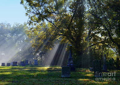 Catherine Jackson Photograph - Historic Sibley Cemetery At Fort Osage Missouri by Catherine Sherman