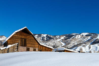 Steamboat Photograph - Historic Steamboat Spring Barn by Teri Virbickis