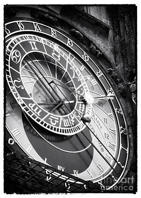 Prague Photograph - Historic Time by John Rizzuto
