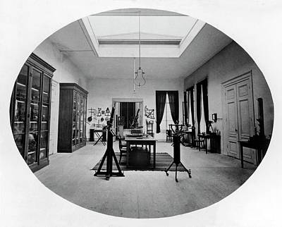 Leiden Photograph - Historical Astronomical Instruments by Royal Astronomical Society
