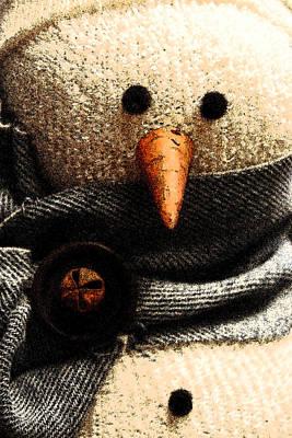Christmas Photograph - Hobo Snowman Vi by Jani Freimann