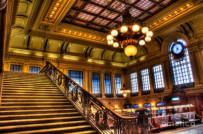 Frank Sinatra Photograph - Hoboken Terminal by Anthony Sacco