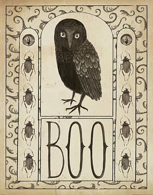 Halloween Painting - Hocus Pocus IIi by Sara Zieve Miller
