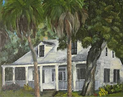Susan L Richardson Art Painting - Hoffman House by Susan Richardson