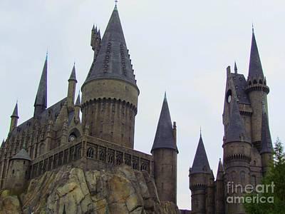 Hogwarts Photograph - Hogwarts Castle by Elizabeth Dow
