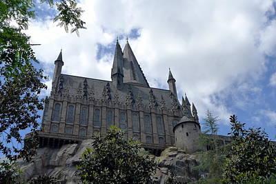 Hogwarts School Print by Richard Reeve