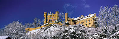 Hohenschwangau Castle Schloss Print by Panoramic Images