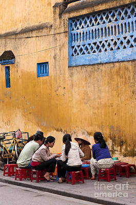 Hoi An Noodle Stall 04 Print by Rick Piper Photography