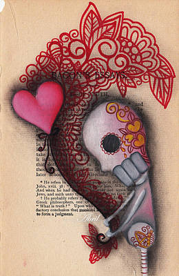 Holding On Print by  Abril Andrade Griffith