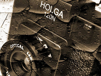 Holga Camera Photograph - Holga 120n by Mike McGlothlen