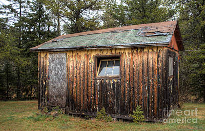 Michigan Photograph - Holiday Cabins Of The Past 3 by Deborah Smolinske