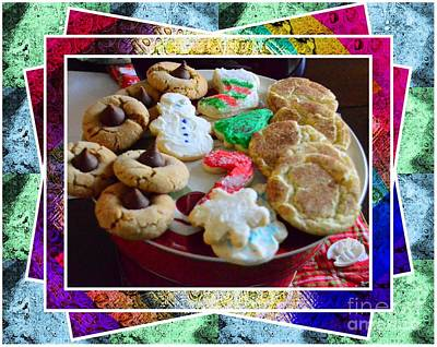 Chocolate Covered Peanut Photograph - Holiday Cookies by Kathleen Struckle