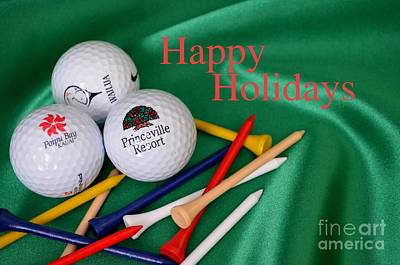 Photograph - Holiday Golf by Mary Deal
