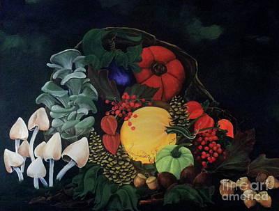 Holiday Harvest Original by D L Gerring