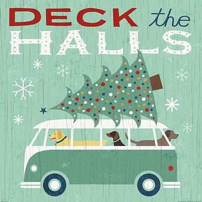 Holiday On Wheels Iv Print by Michael Mullan