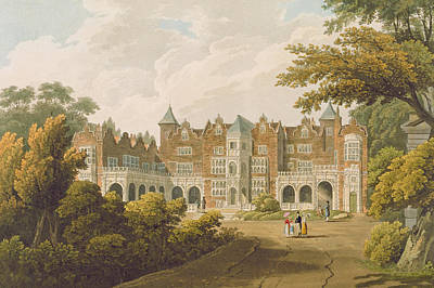Holland House, The Seat Of The Right Print by J.C. Smith