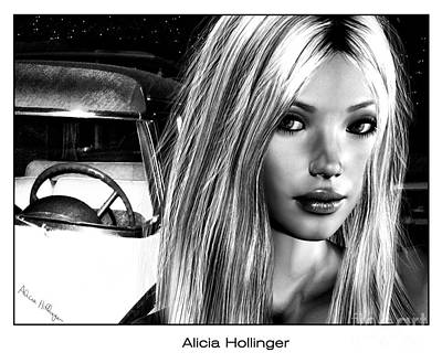 Los Angeles Mixed Media - Hollywood Confidential by Alicia Hollinger