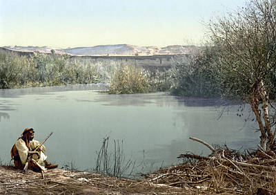 Holy Land River Jordan Print by Granger