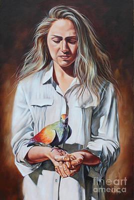 Painting - Holy Spirit by Ilse Kleyn