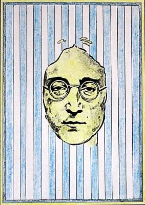 Harrison Mixed Media - Homage To John Lennon  by John  Nolan