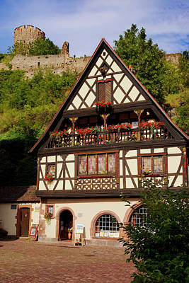 Home And Shop In Kaysersberg Print by Brian Jannsen
