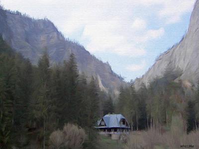 Jeff Digital Art - Home In The Mountains by Jeff Kolker