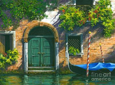 Italian Landscapes Painting - Home Is Where The Heart Is by Michael Swanson
