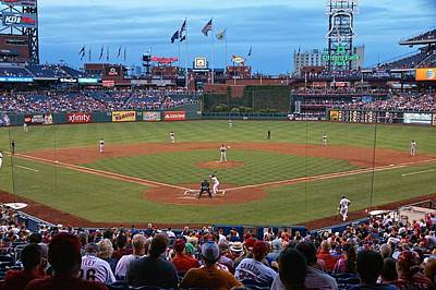 Citizens Bank Park Photograph - Home Of The Phillies by Lanis Rossi