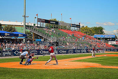 Fightin Phils Photograph - Home Run Or Struck Out by Michael Porchik
