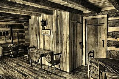 Old Cabins Photograph - Home Sweet Home by Dan Sproul