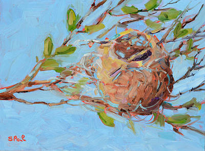 Oriole Painting - Home Sweet Home by Suzy Pal Powell