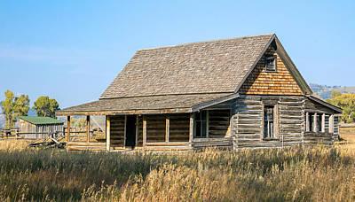 Farms-n-barns Photograph - Homestead 1 by Nicholas Blackwell