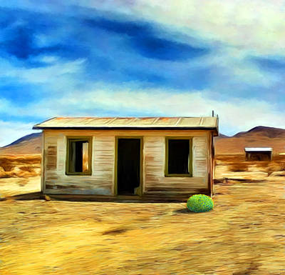 Homestead Print by Snake Jagger