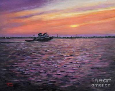 Schmid Painting - Homeward Bound by J Kenneth Grody