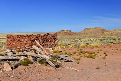 Grassland Photograph - Homolovi Ruins State Park Arizona by Christine Till