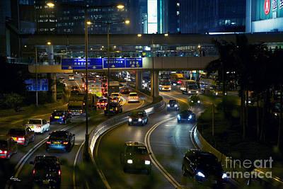 Hong Kong Photograph - Hong Kong Veins by T Lang