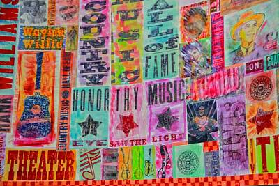 Nashville Sign Photograph - Honor Thy Music Blanket by Dan Sproul