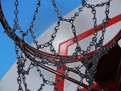 Basketball Abstract Photograph - Hoop Dreams by Andy McAfee