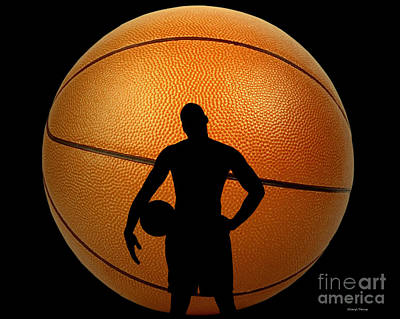 Larry Bird Photograph - Hoop Dreams by Cheryl Young