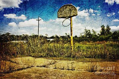 South Louisiana Photograph - Hoop Dreams by Scott Pellegrin