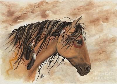 Hopa - Majestic Mustang Series Print by AmyLyn Bihrle