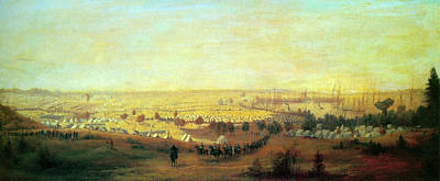 Cumberland River Painting - Hope Army Of The Potomac by Granger