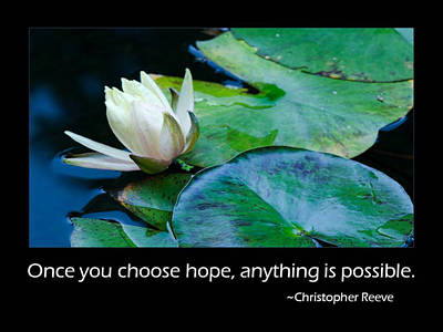 Hope Print by Don Schwartz