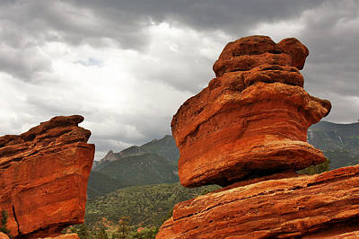 Hoping For Rain - Garden Of The Gods Colorado Print by Christine Till