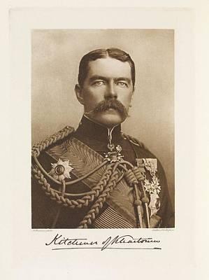 Africa-north Photograph - Horatio Herbert Kitchener by British Library