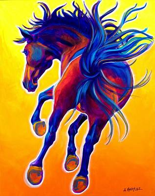 Horse - Kick Up Your Heels Print by Alicia VanNoy Call
